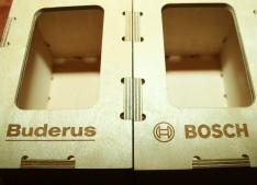 Lāzergravēti logo prezentreklāmas kastēs